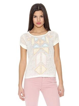 Springfield Camiseta T Triang Cuerpo (Blanco)