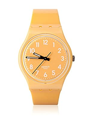 Swatch Quarzuhr Unisex Unisex FLAKY YELLOW GJ132 34.0 mm
