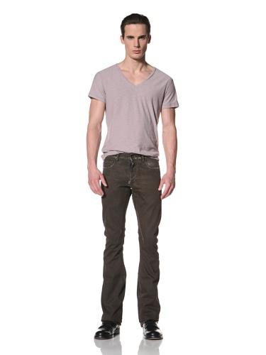 Rick Owens DRKSHDW Men's Bootcut Jean (Bitter Wax)