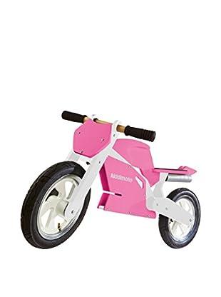 kiddimoto Handschuhe Sport Cherry pink/weiß