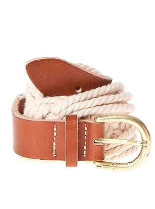 Javier Simorra Cinturón Cuerda (crudo / marrón)