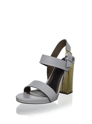 MARNI Women's Block Heel Sandal (Mineral Ice)