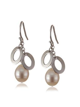 Valero Pearls 60201040 - Pendientes de mujer de plata con perla cultivada de agua dulce
