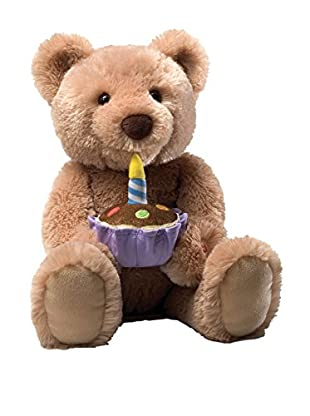 GUND Birthday Teddy Bear Animated Musical Stuffed Animal