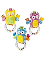 Owl Ring Rattle Taggies Colour Colors May Vary