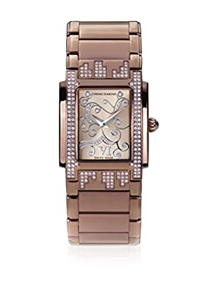 Chrono Diamond Quarzuhr Woman Swiss Made 11110 Lenya rosé 29 mm