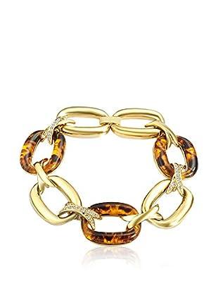 Saint Francis Crystals Armband vergoldet/braun
