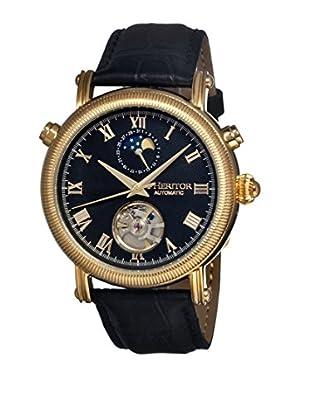Heritor Automatic Uhr Kornberg Herhr1604 schwarz 48  mm