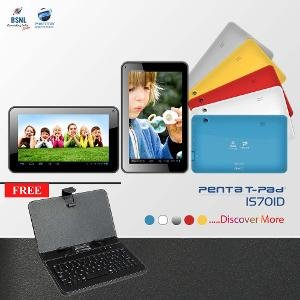 Penta Dual Core Wifi Tablet With Coloured Keyboard
