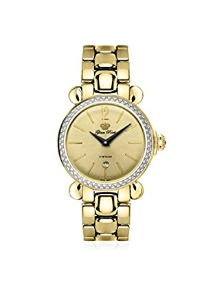 Glam Rock Women's GR28053DS Vintage Glam Gold Stainless Steel Watch