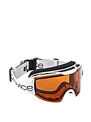 Black Crevice Skibrille  weiß/orange