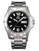 Orient Black Dial Analogue Watch for Men (SEM7L004B9)