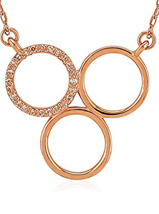 Divas Diamond Halskette Diamond Gold Trio Circle