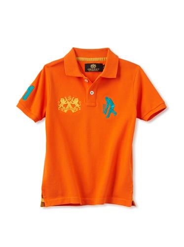 Sher Singh Boy's Classic Polo (Orange)