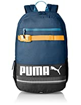 Puma Polyester 24 Ltrs Blue Wing Teal Laptop Bag (7339307)
