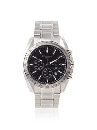Rudiger Men's R1000-04-007 Dresden Black Dial Chronograph Tachymeter Watch