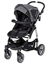 Kiddy Sport N Move Stroller, Dark Grey/Black (Discontinued by Manufacturer)