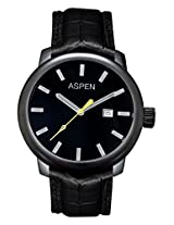 Aspen Core Classic M Analog Black Dial Men's Watch - AM0056