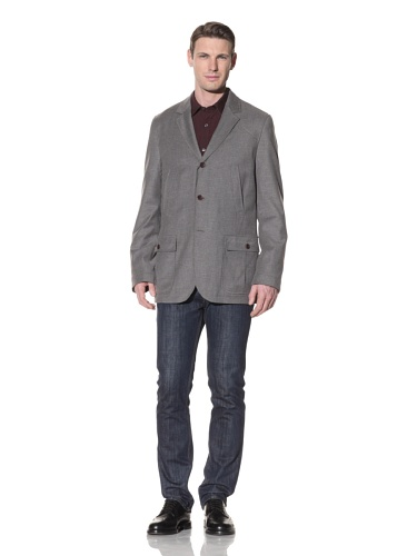Hart Schaffner Marx Men's West Point Blazer (Grey Heather)