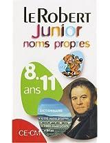 Le Robert Junior Noms Propres 8-11 Ans CE-CM (Dictionnaires Scolaires)
