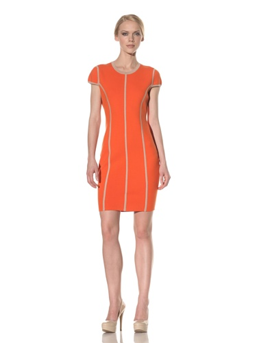 Rachel Roy Women's Color Block Dress (Fraise)