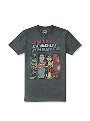 DC COMICS Camiseta Manga Corta Jla Line Up