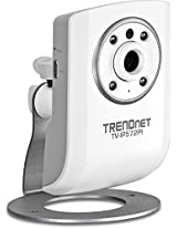 TRENDnet Megapixel Network Surveillance Camera with 2-Way Audio and Night Vision, TV-IP572PI (White)