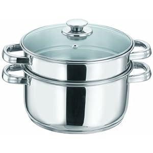 Vinod Tier Steamer Silver