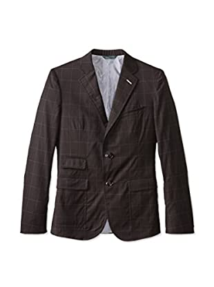 Band of Outsiders Men's Two Button Schoolboy Blazer (Major Brown)