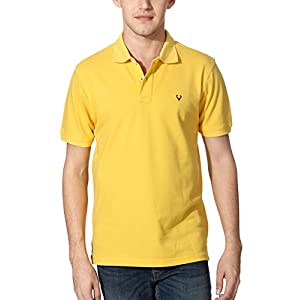Allen Solly Men's Polo (24570_Yellow_XL)