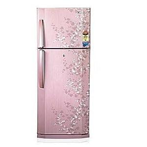 LG 240L 5 Star GL-258VE 4/5 P/B Double Door Refrigerator-Silk Blossom