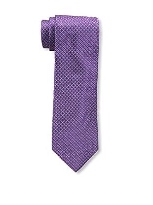 Bruno Piattelli Men's Microneat Silk Tie, Fuschia