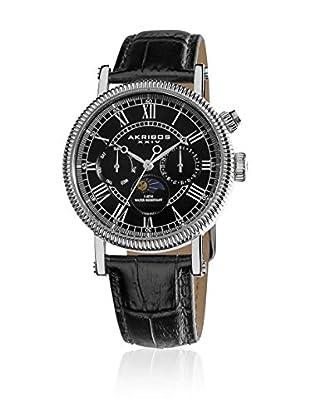 Akribos XXIV Reloj con movimiento cuarzo suizo Man AK610BK 40 mm