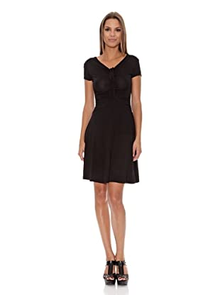 Assuili Vestido Cordón (Negro)