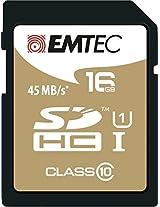 Emtec 16Gb Class10 Sdhc Memory Card