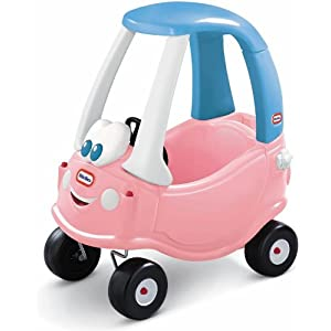 Princess Cozy Coupe Anniversary Edition Pink White & Blue Colored Toy Car