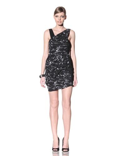 FACTORY by Erik Hart Women's Chiffon Crepe Dress (Plastique Print)