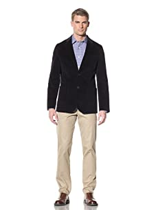 Hart Schaffner Marx Men's Two-Button Blazer (Navy)