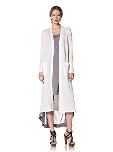 Kenneth Cole Women's Long Cardigan (Ecru)