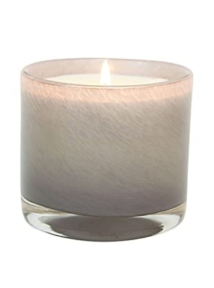 Alassis Set of 4 7.5-Oz. Art Glass Candles, Fig and Violet Leaves, Taupe