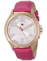 Tommy Hilfiger Women's 1781400 Pink Leather Watch