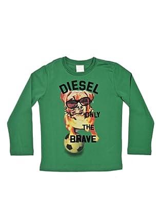 Diesel Kid Longsleeve Takeo (Grün)