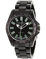Haurex Italy Men's N7366UNV Aston Classic Black Ceramic Watch