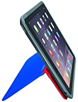 Logitech AnyAngle Protective Case with Stand for Apple iPad Air 2 (Red-Blue)