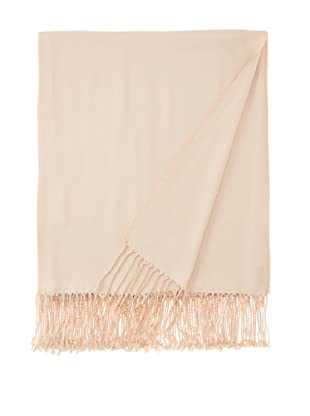 Nine Space Viscose from Bamboo Solid Throw Blanket (Cream)
