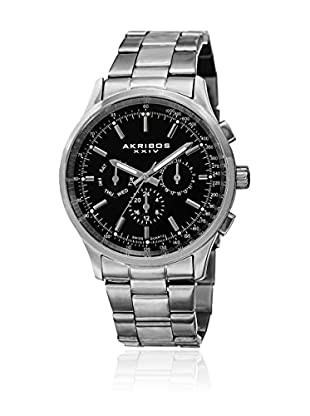 Akribos XXIV Reloj con movimiento cuarzo suizo Man AK788SSB 43 mm