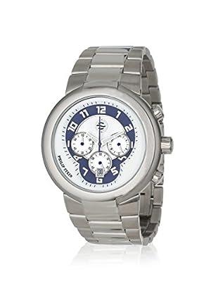 Philip Stein Unisex 32-AN-SS Active Silver/Blue Stainless Steel Watch