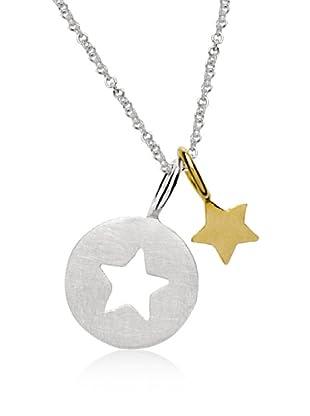 Marc O´Polo Halskette Silber Stern vergoldet