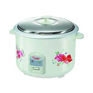 Prestige PRWO 2.8-2 1000-Watt Electric Rice Cooker