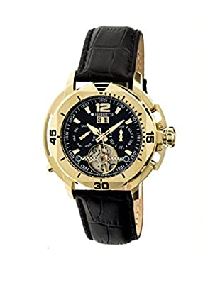 Heritor Automatic Uhr Lennon Herhr2804 schwarz 50  mm
